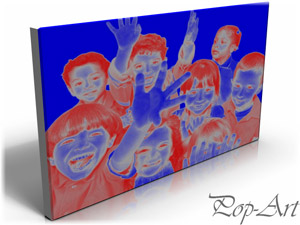 Efect Pop Art - TablouCanvas.ro